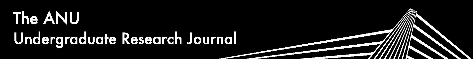 ANU Undergraduate Research Journal